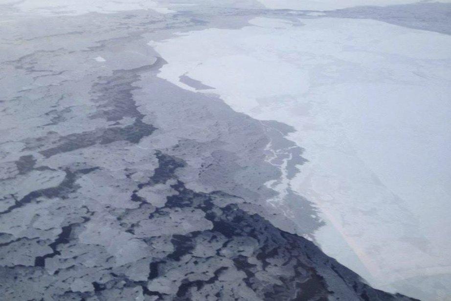 44% de la surface des glaces du Groenland... (Photo Associated Press)
