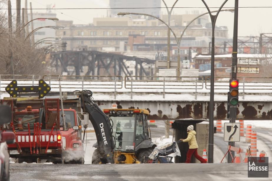 Enclavé malgré sa proximité avec le centre-ville de... (Photo Martin Chamberland, archives La Presse)