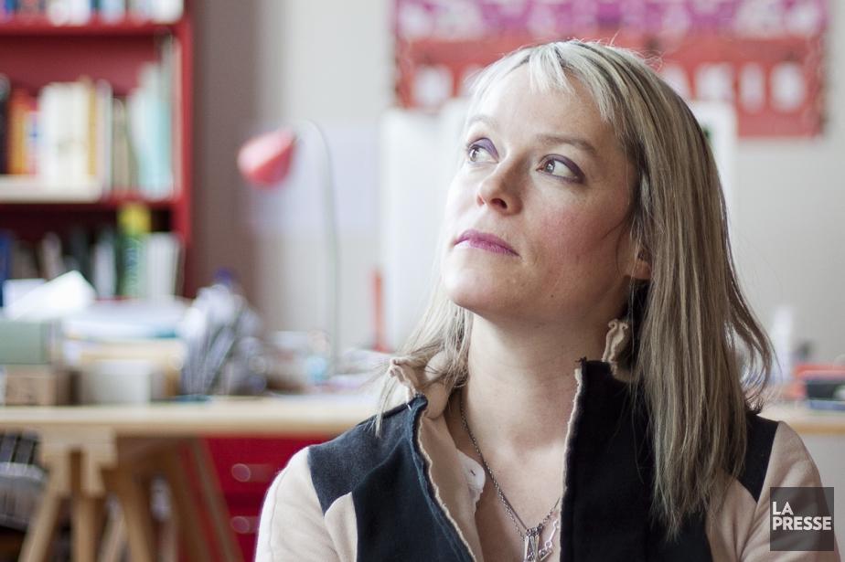 La romancière et professeure de littérature Martine Delvaux.... (Photo: Ninon Pednault, La Presse)