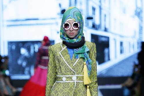 Dian Pelangi imagine des tenues modernes et audacieuses.... (Photo fournie par Dian Pelangi)