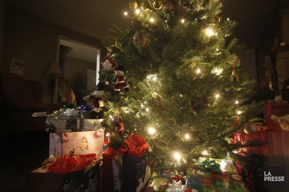 Le sapin de Noël est une tradition bien... (Photo Martin Chamberland, La Presse)