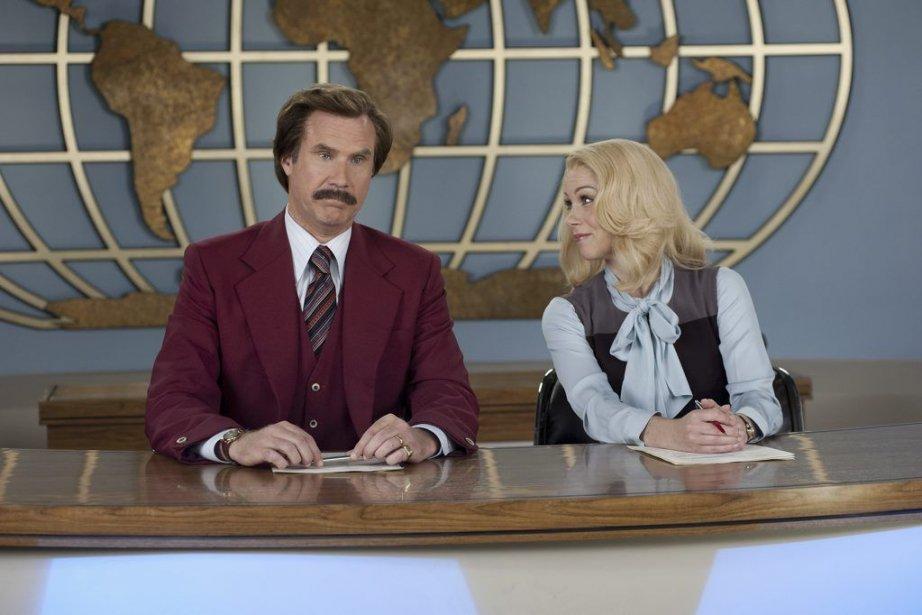 Will Ferrell et Christina Applegate dansAnchorman 2: The... (PHOTO FOURNIE PAR PARAMOUNT)