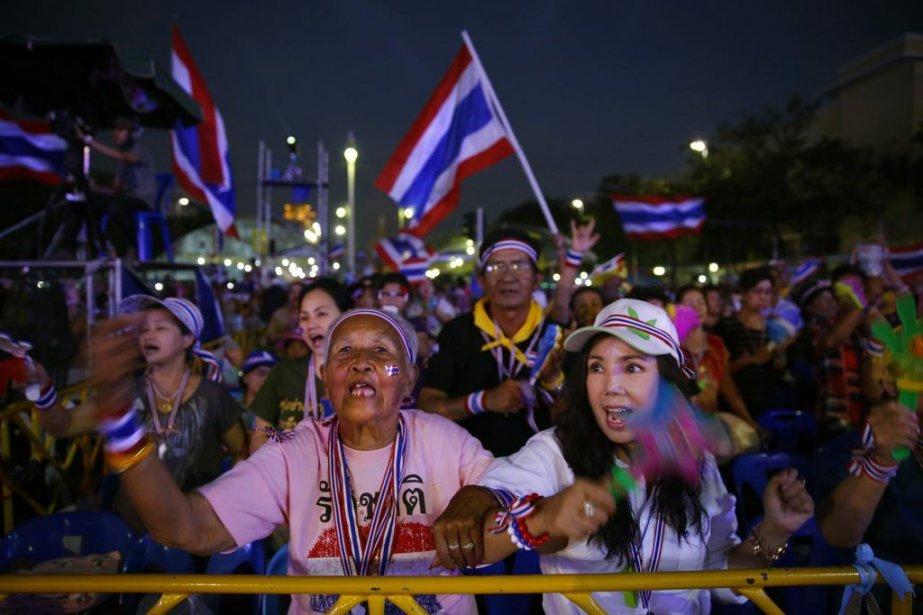 L'opposition au pouvoir est de plus en plus... (Photo AP)