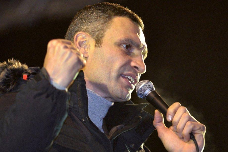 Le boxeur Vitali Klitschko a dit ne pas... (Photo Sergei Supinsky, AFP)