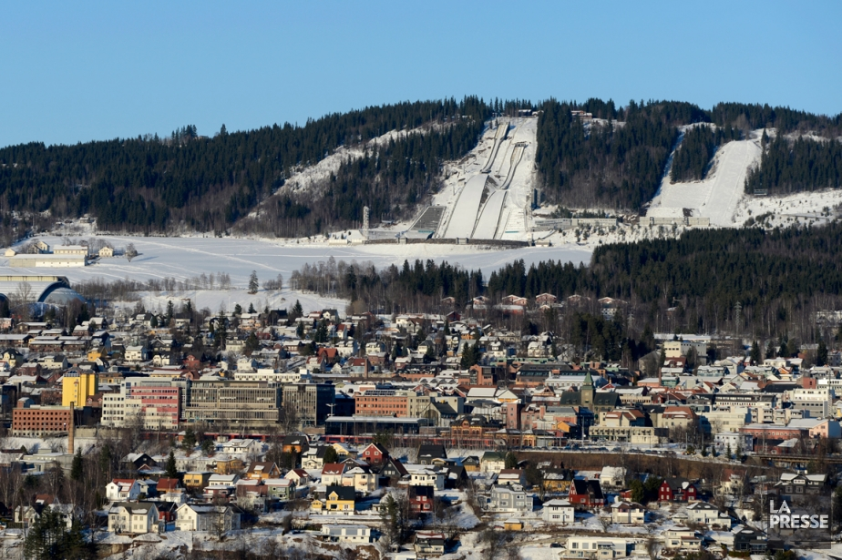 Vue sur la ville de Lillehammer.... (PHOTO BERNARD BRAULT, LA PRESSE)