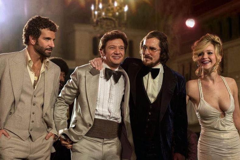 Bradley Cooper, Jeremy Renner, Christian Bale et Jennifer... (Photo: fournie par Sony Pictures)