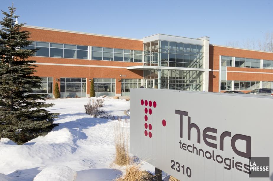 Le titre de Theratechnologies a rapidement gagné 17%... (PHOTO ALAIN ROBERGE, ARCHIVES LA PRESSE)