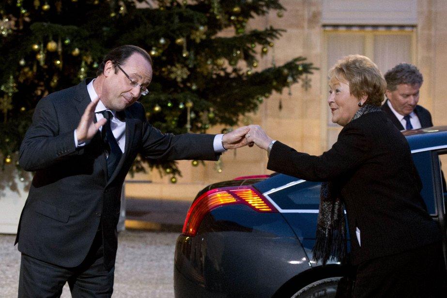 Mme Marois a confirmé qu'elle avait «échangé sur... (Photo AFP)