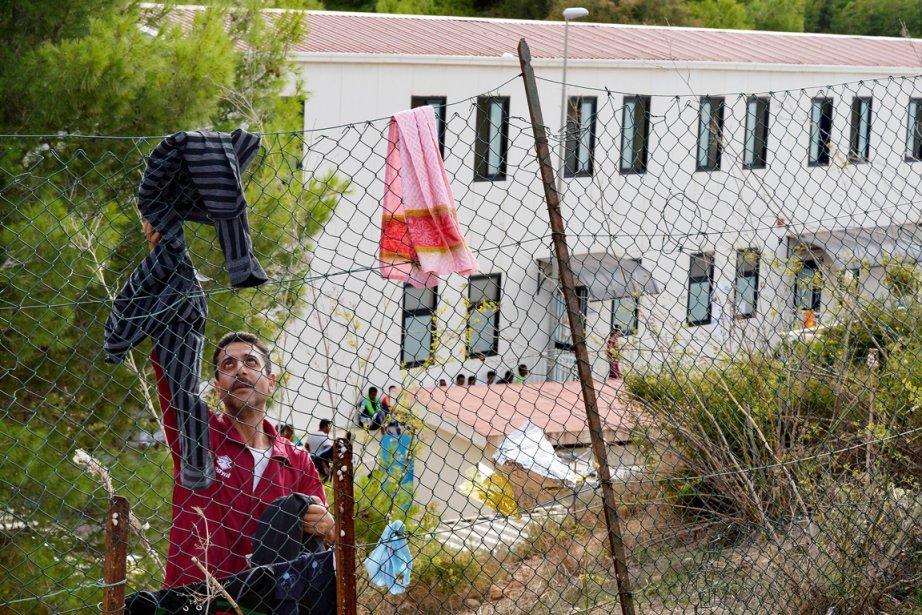 Alors que le «centre de premier secours» ne... (PHOTO ALBERTO PIZZOLI, ARCHIVES AFP)