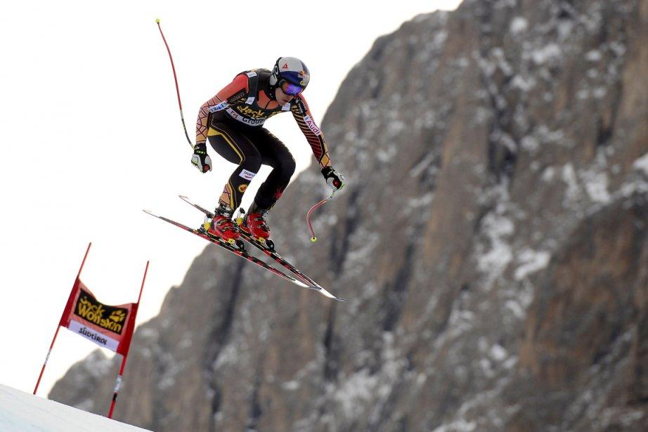 Erik Guay a signé le temps le plus... (Photo Olivier Morin, AFP)