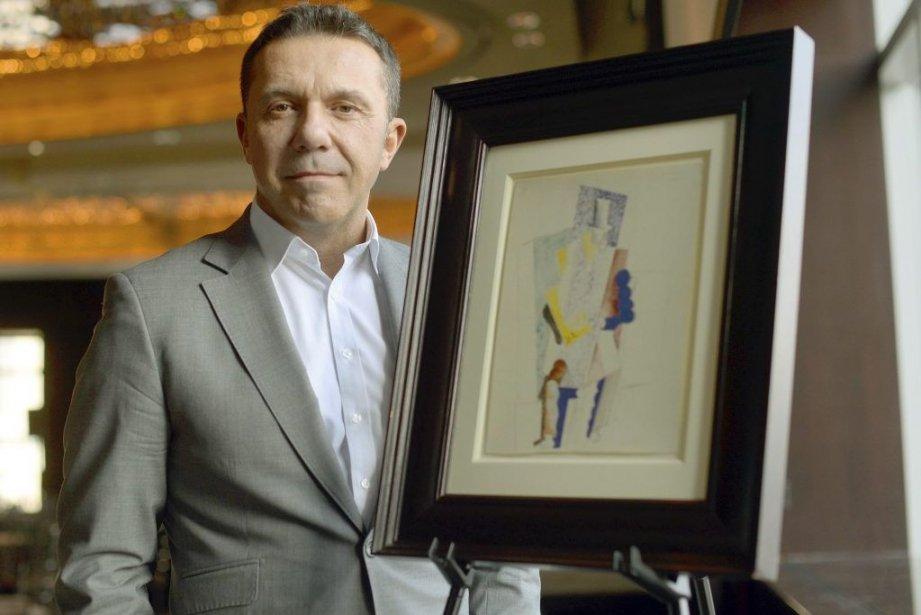 L'Homme au gibus de Pablo Picasso... (Photo: AFP)