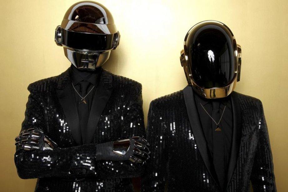 Thomas Bangalter et Guy-Manuel de Homem-Christo du groupe... (Photo: AP)