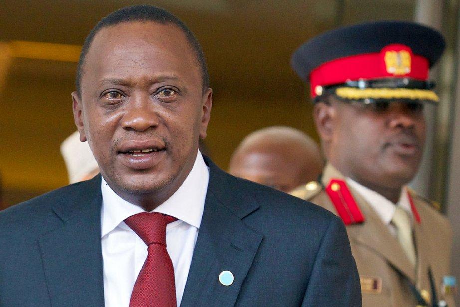 Le président kényan Uhuru Kenyatta.... (PHOTO ANDREW COWIE, AFP)