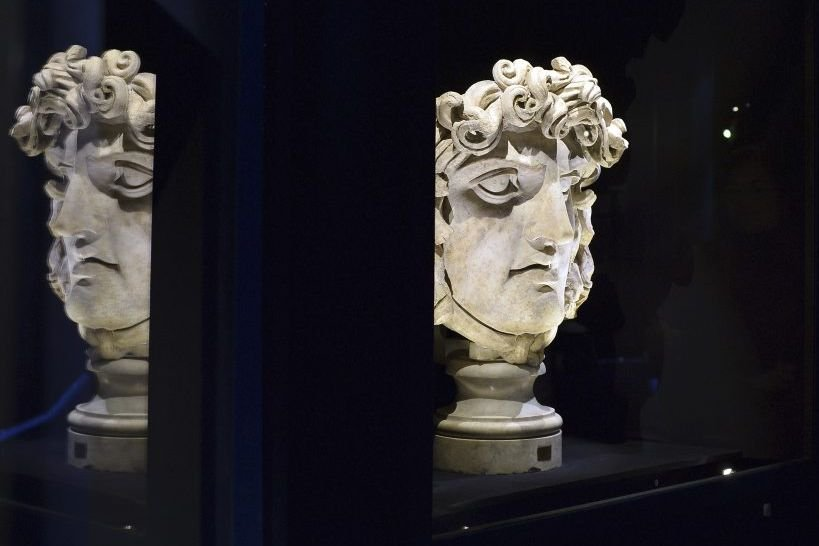 Griffons, sirènes, minotaures, gorgones, hydres, sphinx... Tous... (Photo: AFP)