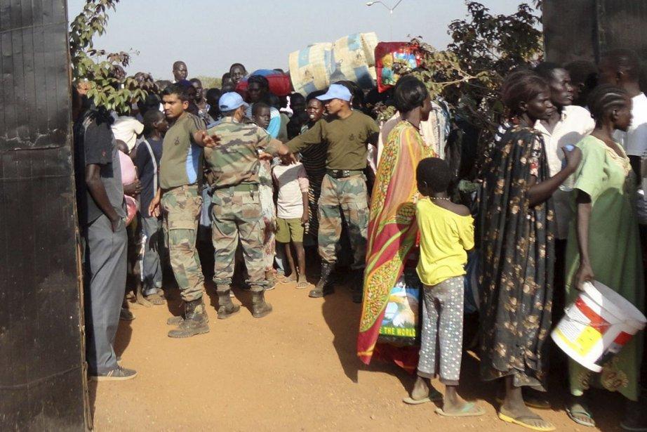 Plus de 34000 personnes ont trouvé asile dans... (PHOTO ARCHIVES REUTERS/MINUSS)