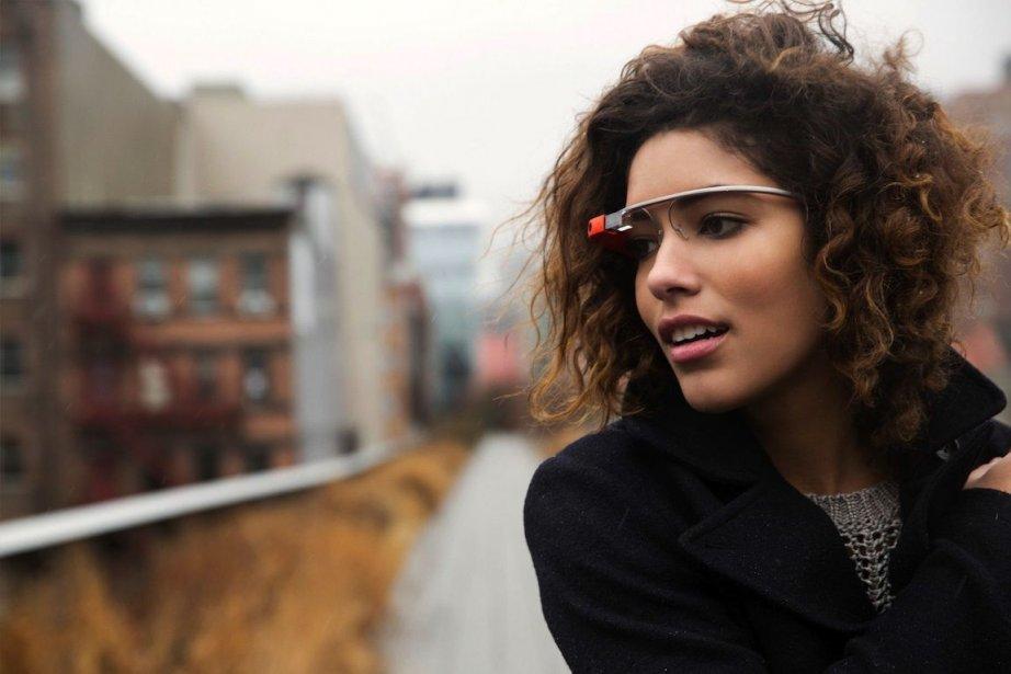 Les lunettes interactives développées par Google ne sont... (Photo Google)