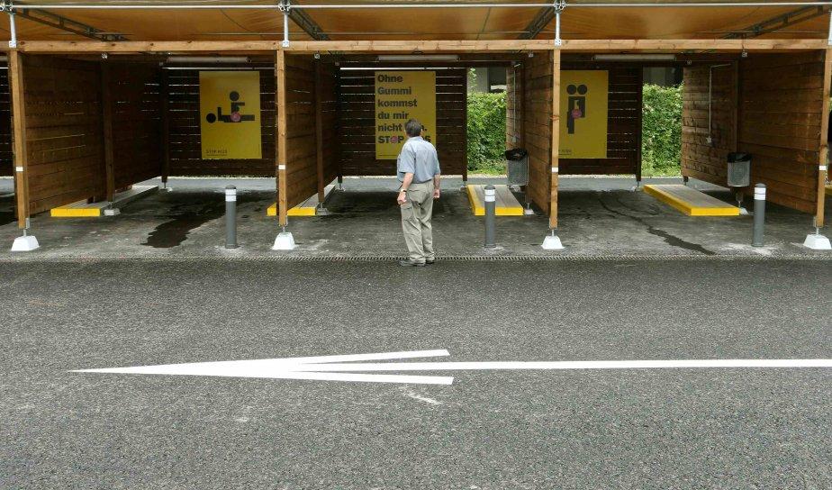 En août dernier, Zurich a lancé des «garages... (Photo Arnd Wiegmann, REUTERS)
