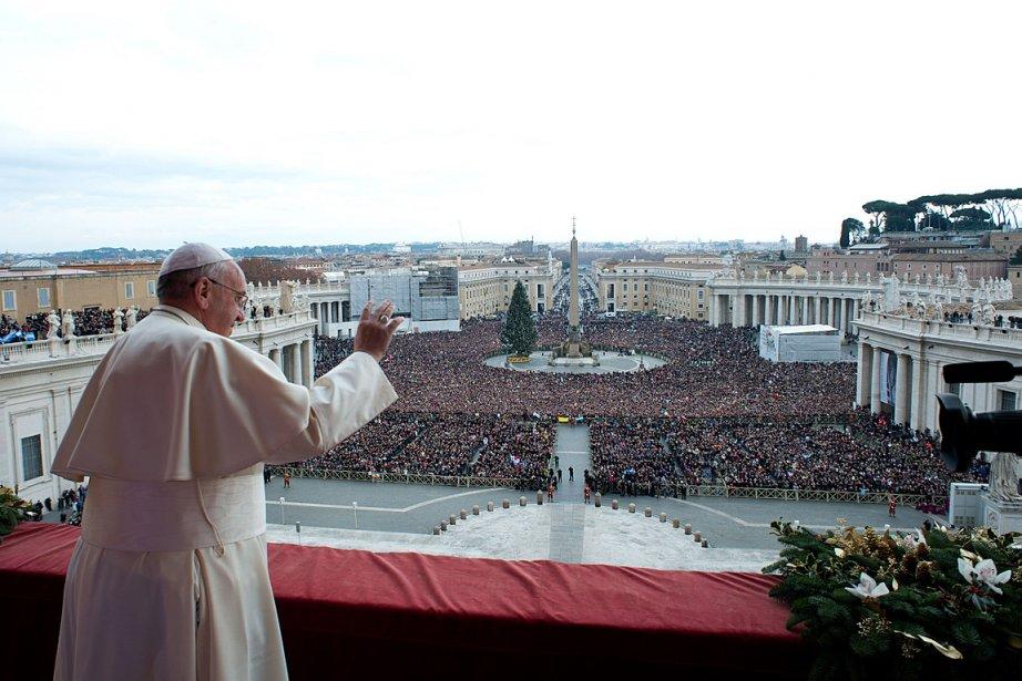 Le pape François est perçu comme plus capable... (PHOTO AGENCE FRANCE PRESSE / OSSERVATORE ROMANO)
