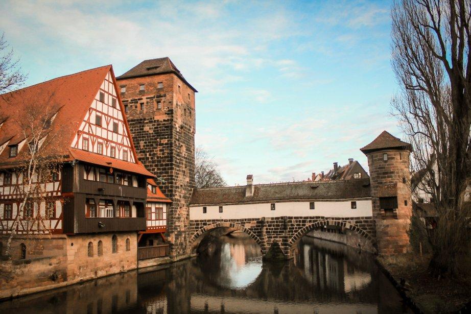 Nuremberg doit une partie de son charme à la rivière Pegnitz, qui scinde sa vieille ville en deux parties. (Photo Jessica Théroux, collaboration spéciale)