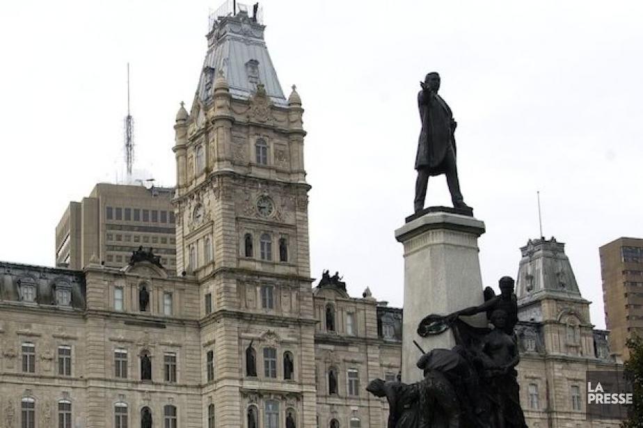 L'Assemblée nationale du Québec.... (PHOTO: JEAN GOUPIL, ARCHIVES LA PRESSE)