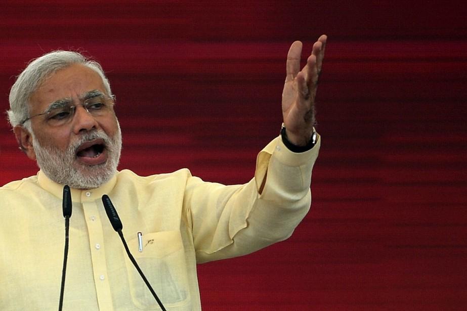 Narendra Modi... (PHOTO PUNIT PARANJPE, ARCHIVES AFP)
