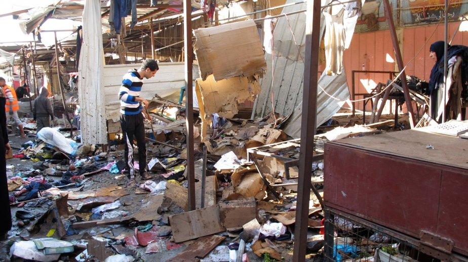 Quatre explosions ont secoué un quartier chrétien de... (PhotoAhmed Malik,Reuters)