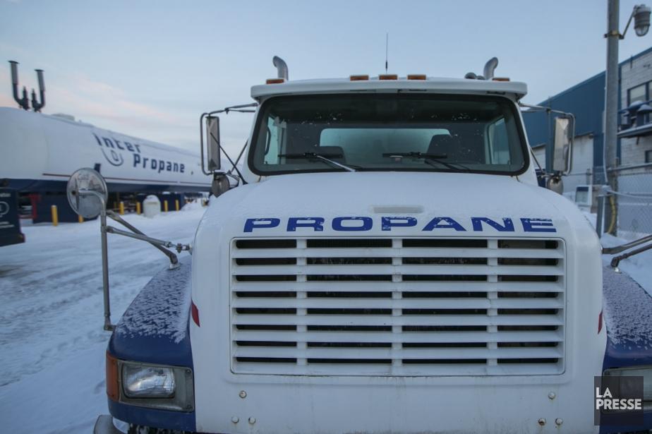 Le propane se fait rare au Québec depuis... (PHOTO HUGO-SÉBASTIEN AUBERT, LA PRESSE)