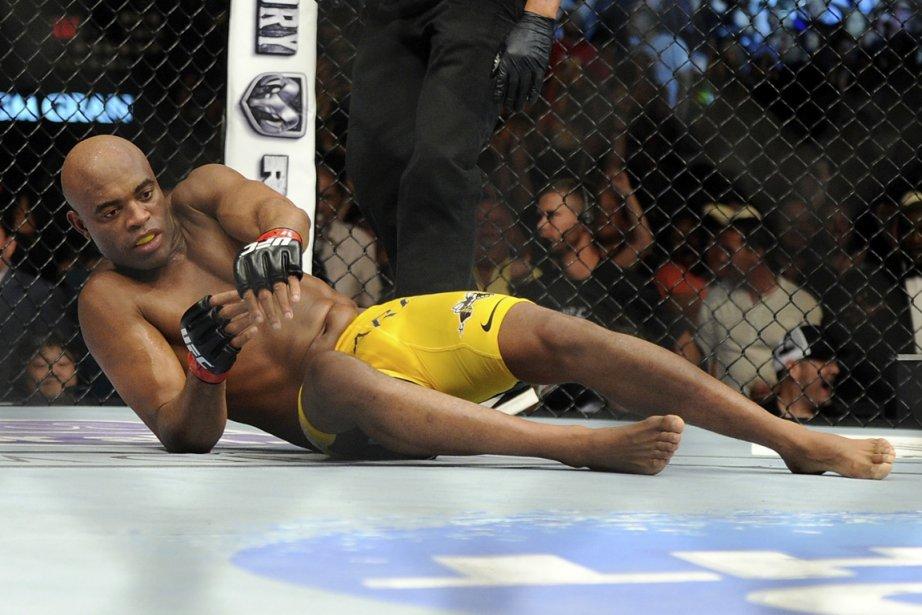 Anderson Silva (photo) n'a pas dit son dernier... (Photo AP)