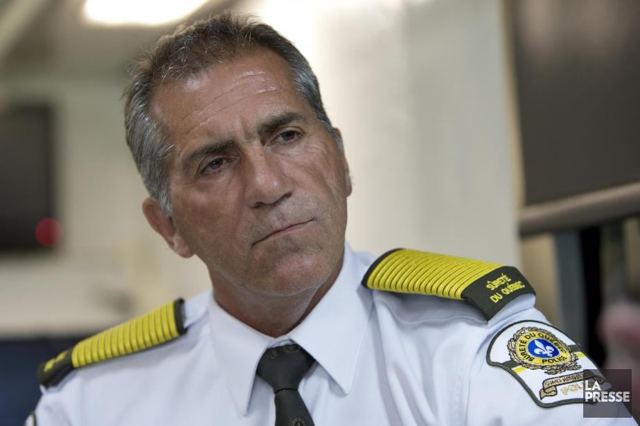 Mario Laprise, directeur général de la Sûreté du...