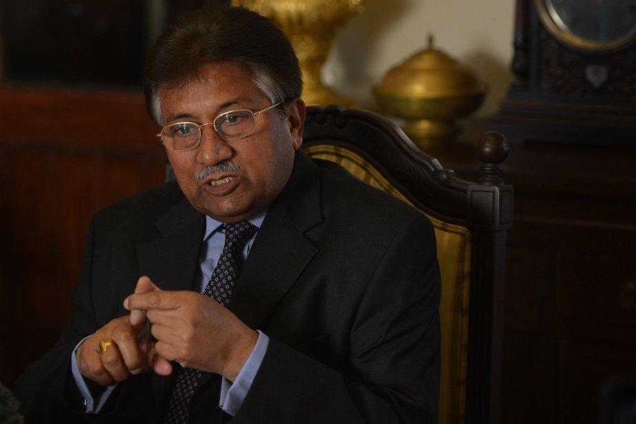 L'ex-président pakistanais Pervez Musharraf,70 ans, a été au... (Photo FAROOQ NAEEM, AFP)