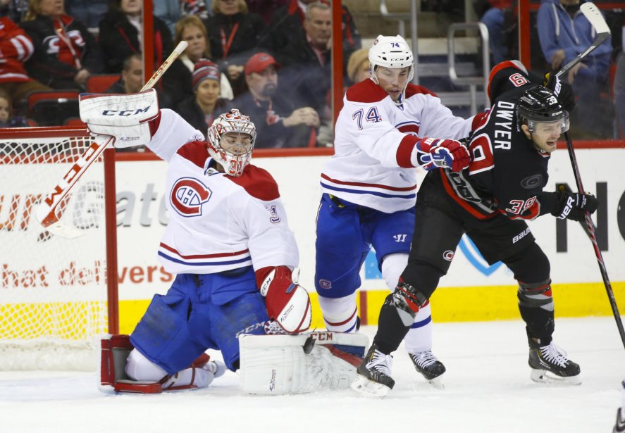Carey Price a effectué 37 arrêts pendant le match. (Photo James Guillory, USA TODAY Sports)