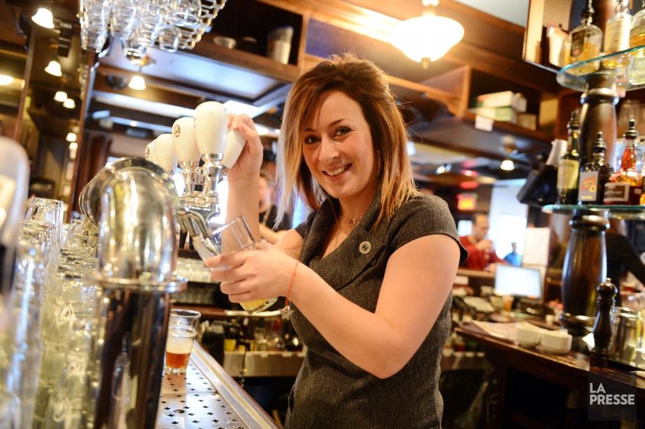 À La voie maltée, la bière se taille... (Photo La Presse)