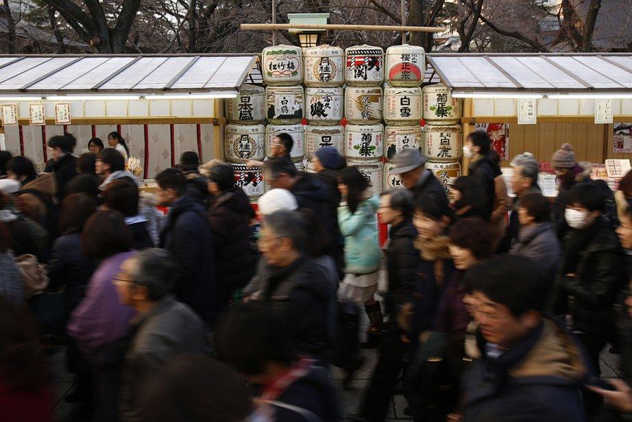 Au 31 mars dernier, le Japon comptait officiellement... (PHOTO REUTERS)
