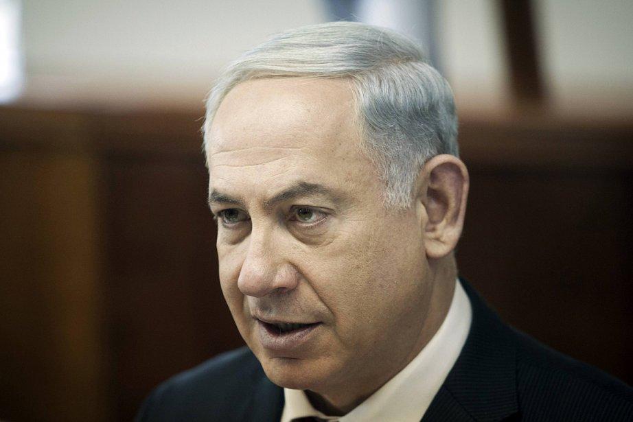 Le premier ministre israélien Benyamin Nétanyahou.... (PHOTO REUTERS)