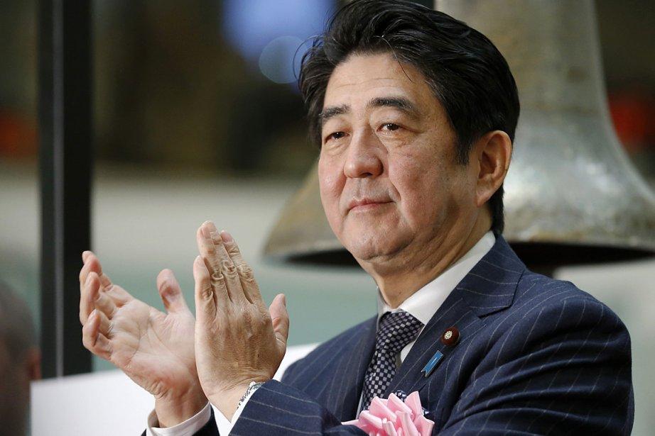 Le premier ministre japonais Shinzo Abe.... (PHOTO ASSOCIATED PRESS)