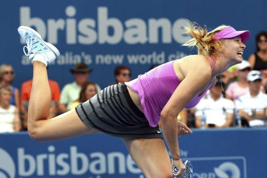 Maria Sharapova... (PHOTO WILLIAM WEST, AFP)
