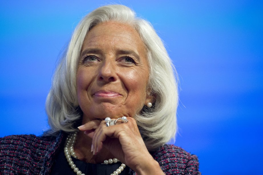 Christine Lagarde... (Photo SAUL LOEB, AFP)
