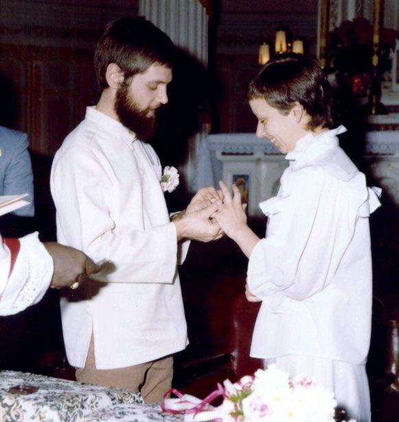Jacques Gauthier et Anne-Marie Bernier se sont mariés... (Photo fournie par l'auteur)