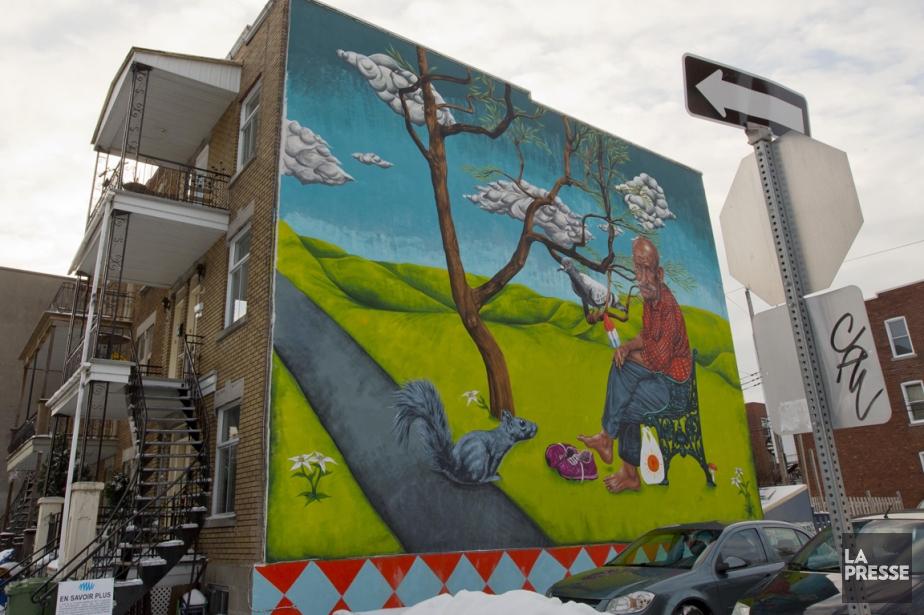 Vie de quartier, dans l'Arrondissement Verdun.... (Photo Alain Roberge, La Presse)