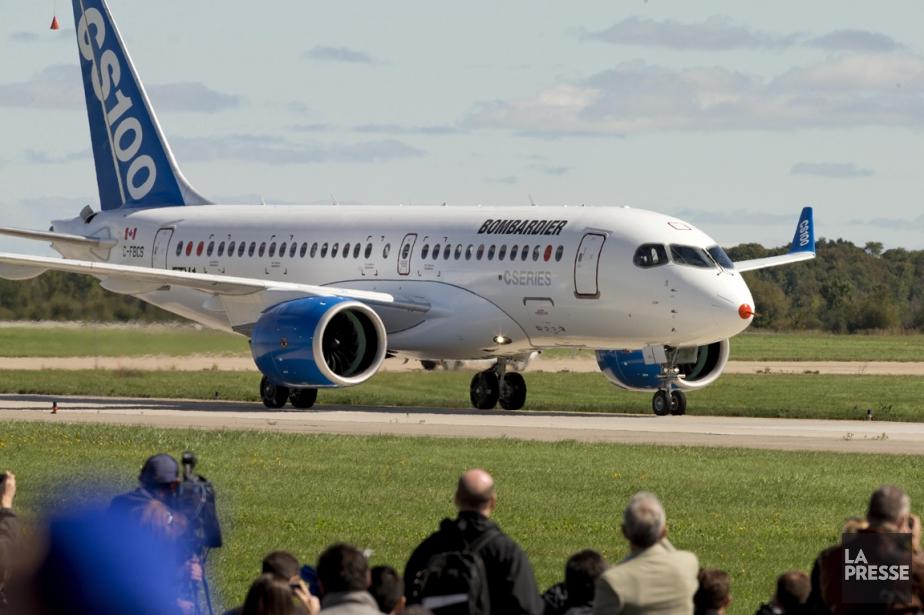 L'entrée en service commercial du CS100, la version... (Photo Alain Roberge, archives La Presse)