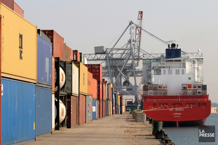 Les exportations ont atteint 45,2 milliards de dollars... (PHOTO ARCHIVES LA PRESSE)
