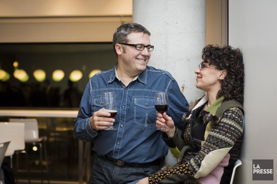 Julie Dupras et Patrice Richer... (PHOTO ÉDOUARD PLANTE-FRÉCHETTE, LA PRESSE)