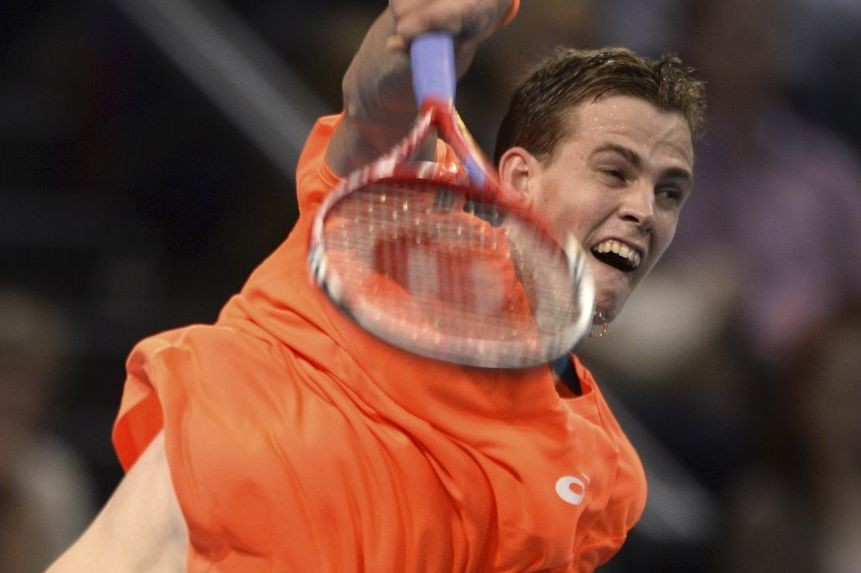 Vasek Pospisil... (Photo : Fabrice Coffrini, archives AFP)