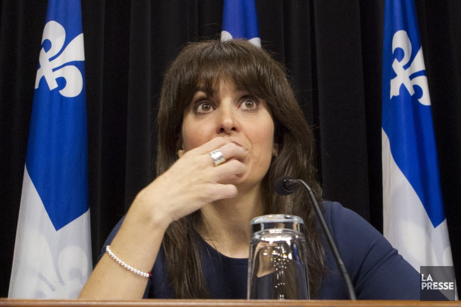 La ministre déléguée à la Santé et aux... (PHOTO IVANOH DEMERS, LA PRESSE)