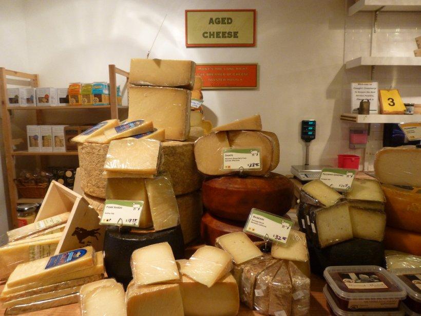 La fromagerieCowgirl Creamery offre des fromages bios en plein cœur de Washington. (Photo Catherine Schlager, La Presse)
