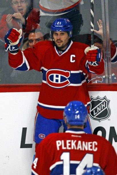 Le 2e but du Canadien allait s'avérer celui de la victoire. (Photo: Olivier Jean, La Presse)