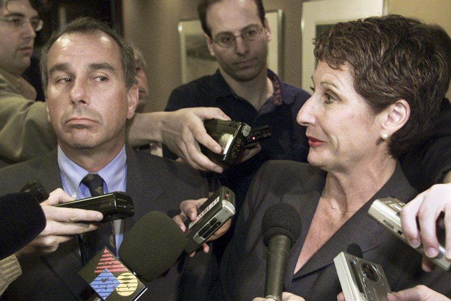 Ronald Weinberg et Micheline Charest (morte en 2004)... (Photo archives PC)