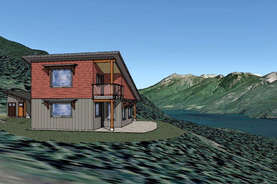 La maison «Damn Near Passive House», en Colombie-Britannique, est la deuxième à obtenir la certification Net Zero Heat. Ses besoins en énergie de chauffage devraient être d'environ 20 kWh/m2 par année. (PHOTO FOURNIE PAR GOWER DESIGN GROUP)