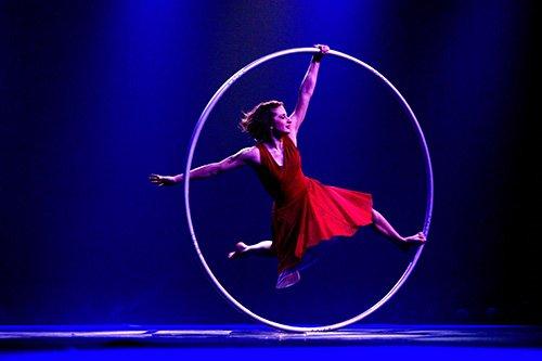 L'artiste Angelica Bongiovonni était présente au festival l'an... (Photo: Yan Forhan, fournie par le Festival mondial de cirque de demain)