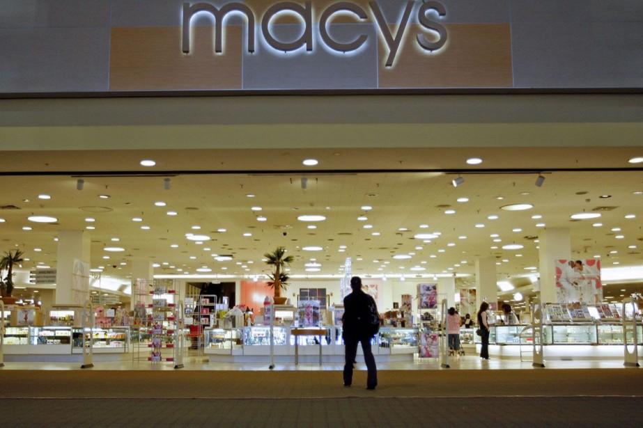 La chaîne américaine de grands magasins Macy's a annoncé mercredi... (Photo: AP)
